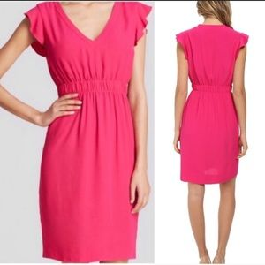 Kate Spade frill dress with fitted waist